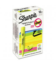 Sharpie Accent Tank Style Chisel Tip Highlighter, Assorted, 12-Pack