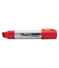 Sharpie Magnum Permanent Marker, Chisel Tip, Red