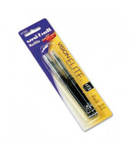 Uni-ball Refill for Bold Vision Elite Roller Ball Pens, Black Ink, 2-Pack