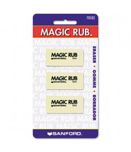 Prismacolor Magic Rub Vinyl Art Eraser, 3-Pack