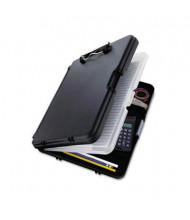 "Saunders 1/2"" Capacity 8-1/2"" x 12"" WorkMate II Storage Clipboard, Black/Charcoal"