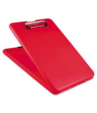 "Saunders 1/2"" Capacity 8-1/2"" x 12"" SlimMate Storage Clipboard, Red"