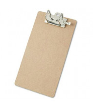 "Saunders 2"" Capacity 8-1/2"" x 14"" Recycled Arch Clipboard, Brown"