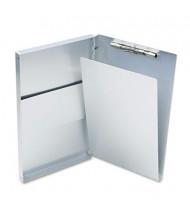 "Saunders 1/2"" Capacity 8-1/2"" x 14"" Snapak Aluminum Forms Folder, Silver"
