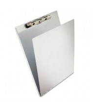 "Saunders 3/8"" Capacity 8-1/2"" x 12"" Aluminum Clipboard with Writing Plate, Silver"