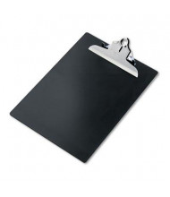 "Saunders 1"" Capacity 8-1/2"" x 12"" Recycled Plastic Clipboard, Black"