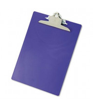 "Saunders 1"" Capacity 8-1/2"" x 12"" Recycled Plastic Clipboard, Purple"