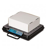 "Brecknell GP100 100 lb. Portable Digital Bench Scale, 12"" W x 10"" D Platform"
