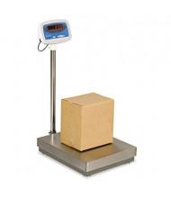 "Brecknell S100300 300 lb. Digital Floor Scale, 22"" W x 18"" D Platform"