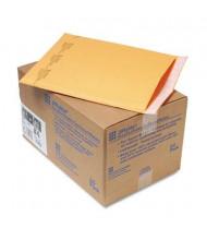 "Sealed Air 9-1/2"" x 14-1/2"" Side Seam #4 Jiffylite Self-Seal Mailer, Gold Brown, 25/Carton"