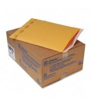 "Sealed Air 12-1/2"" x 19"" Side Seam #6 Jiffylite Self-Seal Mailer, Golden Brown, 25/Carton"