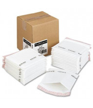 "Sealed Air 7-1/4"" x 8"" TuffGard Jiffy Self-Seal Cushioned CD Mailer, White, 25/Carton"