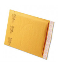 "Sealed Air 8-1/2"" x 12"" Side Seam #2 Jiffylite Self-Seal Mailer, Golden Brown, 100/Carton"