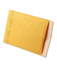 "Sealed Air 9-1/2"" x 14-1/2"" #4 Jiffylite Self-Seal Mailer, Golden Brown, 100/Carton"