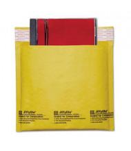 "Sealed Air 7-1/4"" x 8"" Side Seam Jiffylite CD DVD Self-Seal Mailer, Light Brown, 25/Carton"