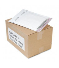 "Sealed Air 7-1/4"" x 12"" TuffGard #1 Jiffy Self-Seal Cushioned Mailer, White, 25/Carton"