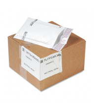 "Sealed Air 4"" x 8"" TuffGard #000 Jiffy Self-Seal Cushioned Mailer, White, 25/Carton"