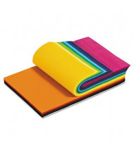 """Smart-Fab 9"""" x 12"""" Assorted Colors Disposable Fabric Sheets, 270/Pack"""