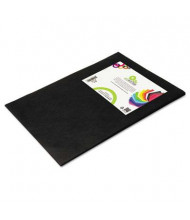"Smart-Fab 12"" x 18"" Black Disposable Fabric Sheets, 45/Pack"