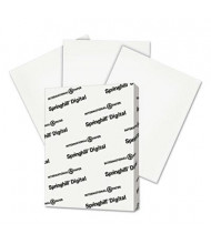 "Springhill 8-1/2"" x 11"", 110lb, 250-Sheets, White Index Card Stock"