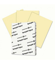"Springhill 8-1/2"" x 11"", 67lb, 250-Sheets, Canary Vellum Bristol Color Cover Stock"