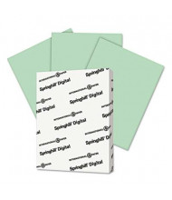 "Springhill 8-1/2"" x 11"", 90lb, 250-Sheets, Green Color Index Card Stock"