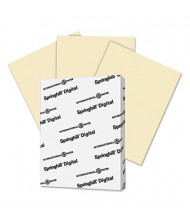 "Springhill 8-1/2"" x 11"", 67lb, 250-Sheets, Ivory Vellum Bristol Color Cover Stock"