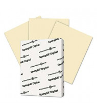 "Springhill 8-1/2"" x 11"", 90lb, 250-Sheets, Ivory Color Index Card Stock"