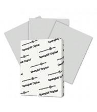 """Springhill 8-1/2"""" x 11"""", 67lb, 250-Sheets, Gray Vellum Bristol Color Cover Stock"""