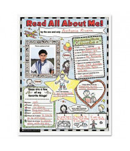 "Scholastic Read All About Me 17"" x 22"" Instant Personal Poster Sets, 30/Pack"