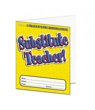 Scholastic Substitute Teacher Grade Pre K-6 Essential Folder, 16 pages