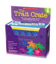 Scholastic The Trait Crate Grade 5 Teacher Lesson Guide, 6 Books