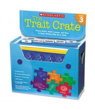 Scholastic The Trait Crate Grade 3 Teacher Lesson Guide, 7 Books