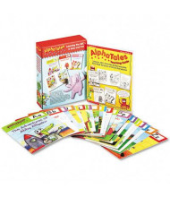 Scholastic AlphaTales Grade Pre K-1 Learning Library Set, 16 pages