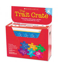 Scholastic The Trait Crate Grade K Teacher Lesson Guide, 6 Books