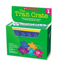 Scholastic The Trait Crate Grade 1 Teacher Lesson Guide, 6 Books