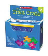 Scholastic The Trait Crate Grade 2 Teacher Lesson Guide, 6 Books