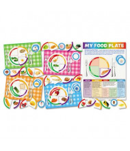 "Scholastic ""My Food Plate"" Bulletin Board Set with Poster and Activity Guide"