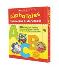 Scholastic AlphaTales Interactive Grades Pre K-1 E-Storybooks, 27 E-Books