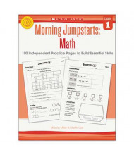 Scholastic Morning Jumpstarts: Math Grade 1 Activity Book, 112 Pages