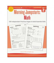 Scholastic Morning Jumpstarts: Math Grade 2 Activity Book, 112 Pages