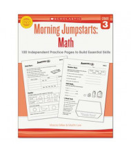 Scholastic Morning Jumpstarts: Math Grade 3 Activity Book, 112 Pages