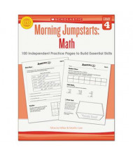 Scholastic Morning Jumpstarts: Math Grade 4 Activity Book, 112 Pages