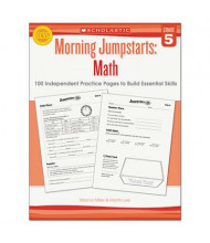 Scholastic Morning Jumpstarts: Math Grade 5 Activity Book, 112 Pages