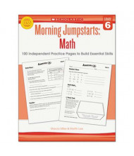 Scholastic Morning Jumpstarts: Math Grade 6 Activity Book, 112 Pages