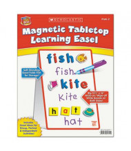 "Scholastic 12"" x 32"" Magnetic Tabletop Learning Easel"