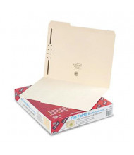 Smead 1/3 Cut Top Tab 1-Fastener Letter File Folder, Manila, 50/Box