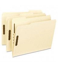 Smead 1/3 Cut Top Tab 2-Fastener Letter File Folder, Manila, 50/Box