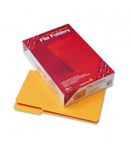 Smead Reinforced 1/3 Cut Top Tab Legal File Folder, Goldenrod, 100/Box