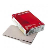Smead Reinforced 1/3 Cut Top Tab Legal File Folder, Gray, 100/Box